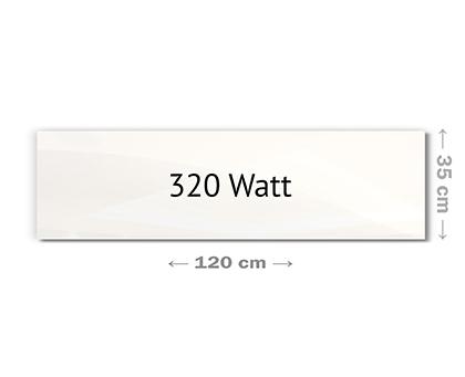 infrarotheizung glas wei rahmenlos 5 jahre garantie. Black Bedroom Furniture Sets. Home Design Ideas