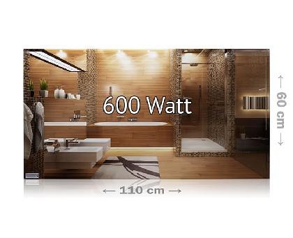 infrarotheizung spiegel rahmenlos von heizprinz. Black Bedroom Furniture Sets. Home Design Ideas
